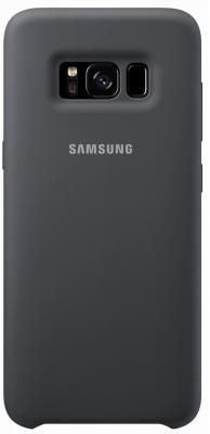 Чехол Samsung EF-PG950TSEGRU для Samsung Galaxy S8 Silicone Cover серый чехол клип кейс samsung protective standing cover great для samsung galaxy note 8 темно синий [ef rn950cnegru]