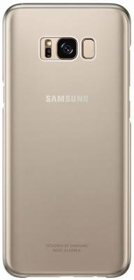Чехол Samsung EF-QG950CFEGRU для Samsung Galaxy S8 Clear Cover золотистый/прозрачный чехол samsung ef qa310cfegru для samsung galaxy a3 clear cover золотистый прозрачный