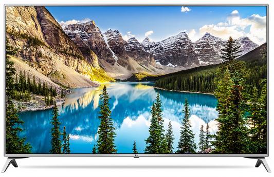 Телевизор LG 43UJ651V серебристый