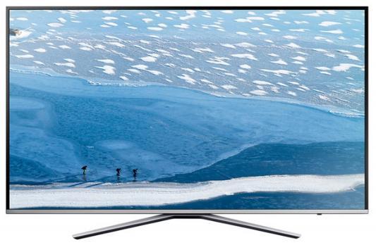 Телевизор Samsung UE49MU6400UXRU серебристый