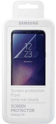 Пленка защитная прозрачная Samsung ET-FG950CTEGRU для Samsung Galaxy S8 2шт