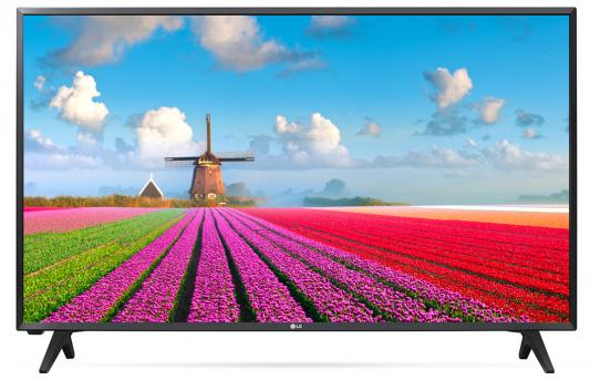 Телевизор LG 43LJ500V черный