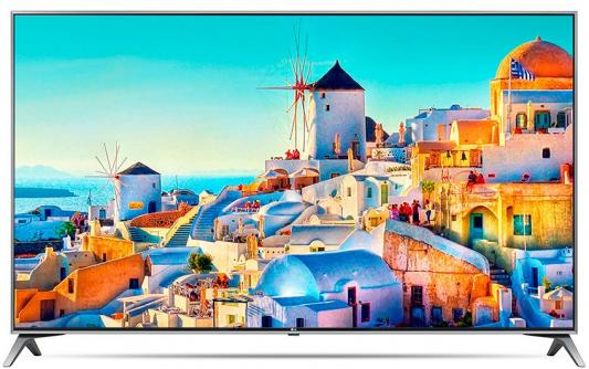 Телевизор LG 43UJ740V серый пылесос lg vc53202nhtr
