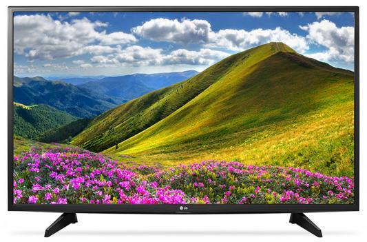 Телевизор LG 49LJ515V черный пылесос lg vc53202nhtr