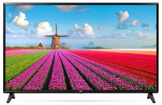 Телевизор LG 49LJ594V черный