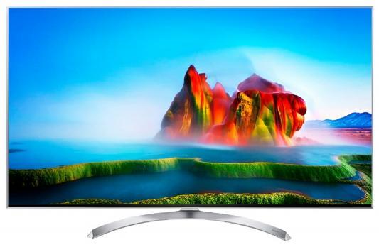 Телевизор 49 LG 49SJ810V серебристый 3840x2160 120 Гц Wi-Fi Smart TV RJ-45 Bluetooth WiDi телевизор led 65 lg oled65e6v серый 3840x2160 120 гц wi fi smart tv rj 45 bluetooth widi
