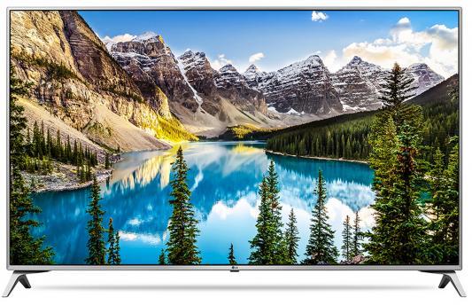 Телевизор LG 49UJ651V серебристый черный телевизор lg 43uj651v серебристый