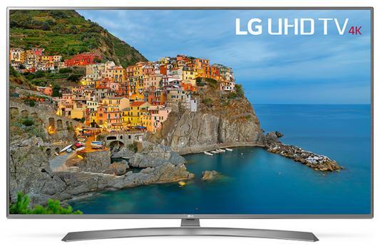 Телевизор LG 49UJ670V серебристый цена