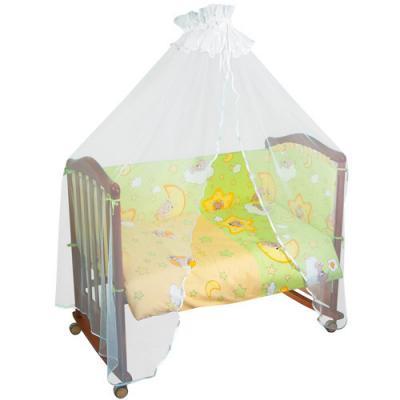 Бампер в кроватку Тайна Снов Сыроежкины сны (салатовый) тайна снов оленята 7 предметов розовый