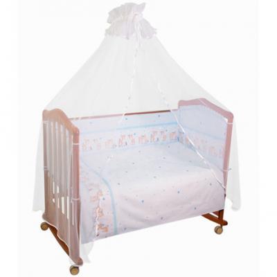 Бампер в кроватку Тайна Снов Оленята (голубой) тайна снов оленята 7 предметов розовый