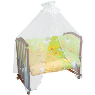 Комплект в кроватку 4 предмета Тайна Снов Сыроежкины сны (салатовый)