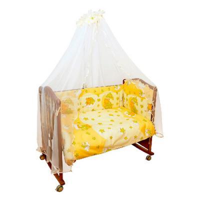 Бампер в кроватку Сонный Гномик Мишкин сон (бежевый) бампер в кроватку сонный гномик пчелки бежевый