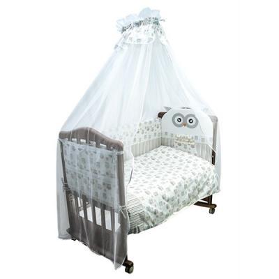 Бампер в кроватку Сонный Гномик Софушки (бежевый)