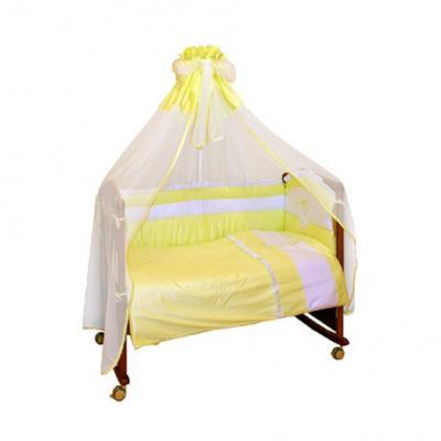 Бампер в кроватку Сонный Гномик Пушистик (салатовый) сонный гномик борт считалочка сонный гномик салатовый