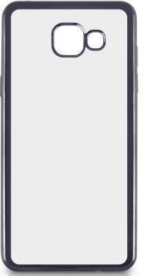 Чехол силиконовый DF sCase-22 для Samsung Galaxy A3 2016 с рамкой серый чехол силиконовый df scase 24 с рамкой для samsung galaxy a7 2016 черный