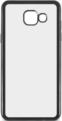 все цены на Чехол силиконовый DF sCase-23 для Samsung Galaxy A5 2016 с рамкой черный онлайн