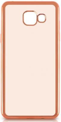 Чехол силиконовый DF sCase-24 с рамкой для Samsung Galaxy A7 2016 розовый силиконовый чехол с рамкой для samsung galaxy a7 2016 df scase 24 rose gold