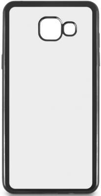 Чехол силиконовый DF sCase-24 с рамкой для Samsung Galaxy A7 2016 серый аксессуар чехол samsung galaxy a7 2016 df scase 24 gold