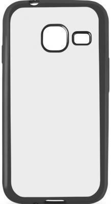 Чехол силиконовый DF sCase-26 с рамкой для Samsung Galaxy J1 mini 2016 черный