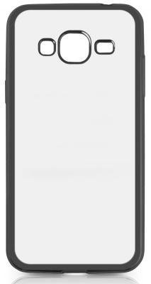Чехол силиконовый DF sCase-28 с рамкой для Samsung Galaxy J3 2016 черный чехол силиконовый df scase 24 с рамкой для samsung galaxy a7 2016 черный