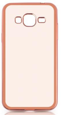 все цены на Чехол силиконовый DF sCase-28 с рамкой для Samsung Galaxy J3 2016 розовый онлайн