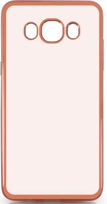 Чехол силиконовый DF sCase-29 с рамкой для Samsung Galaxy J5 2016 розовый силиконовый чехол с рамкой для samsung galaxy s6 df scase 31 space gray
