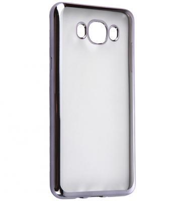 все цены на Чехол силиконовый DF sCase-30 с рамкой для Samsung Galaxy J7 2016 черный онлайн