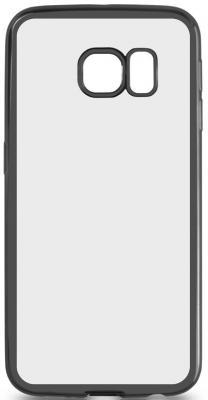все цены на Чехол силиконовый DF sCase-19 с рамкой для Samsung Galaxy S6 Edge черный онлайн