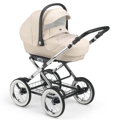 Коляска для новорожденного Cam Linea Elegant Exclusive (цвет 583/крем)
