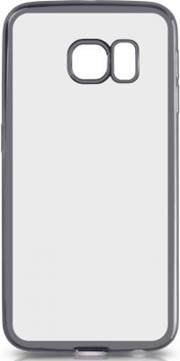 Чехол силиконовый DF sCase-19 с рамкой для Samsung Galaxy S6 Edge серый аксессуар чехол samsung galaxy a7 2016 df scase 24 rose gold