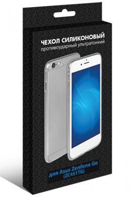 Чехол силиконовый супертонкий DF aCase-11 для Asus Zenfone Go ZC451TG