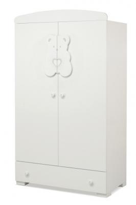 Шкаф двустворчатый Erbesi Tiffany (белый)