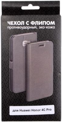 Чехол DF hwFlip-12 для Huawei Honor 4C Pro сотовый телефон huawei honor 8 pro black