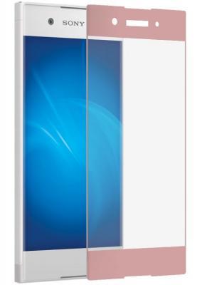 Защитное стекло DF xColor-06 для Sony Xperia XA1 с рамкой розовый смартфон sony xperia xa1 ultra dual