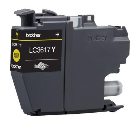 Картридж Brother LC3617Y для Brother MFC-J3530DW/J3930DW желтый 550стр картридж brother lc3617y желтый