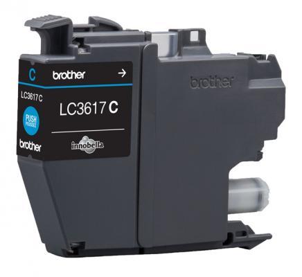Картридж Brother LC3617C для Brother MFC-J3530DW/J3930DW голубой 550стр картридж для струйных аппаратов brother lc3617y желтый для mfc j3530dw j3930dw 550стр lc3617y