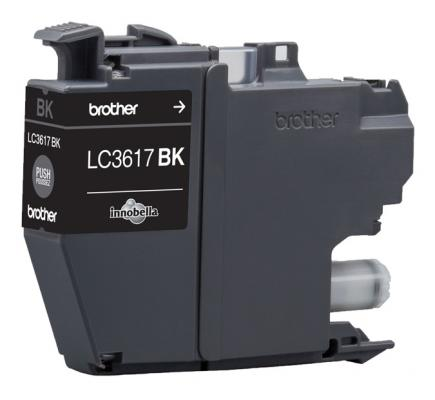 Картридж Brother LC3617BK для Brother MFC-J3530DW/J3930DW черный 550стр картридж для струйных аппаратов brother lc3617bk черный для mfc j3530dw j3930dw 550стр lc3617bk