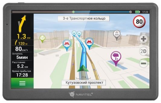 "Навигатор Navitel E700 7"" 800x480 8GB microSDHC черный + Navitel"
