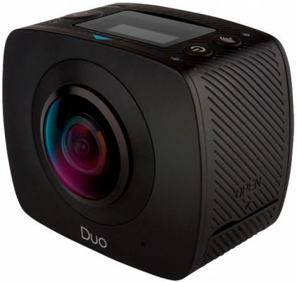 Экшн-камера Gigabyte Jolt Duo черный 2Q002-OMN00-420S