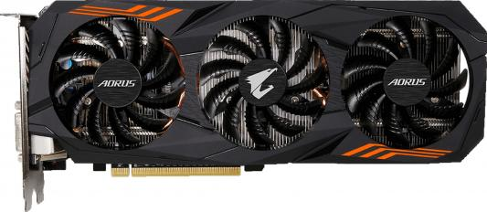 Видеокарта GigaByte GeForce GTX 1060 AORUS GeForce GTX 1060 6G (rev. 2.0) PCI-E 6144Mb GDDR5 192 Bit Retail (GV-N1060AORUS-6GD)