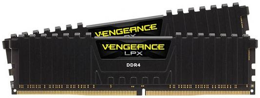 Оперативная память 32Gb (2x16Gb) PC4-21300 2666MHz DDR4 DIMM Corsair CMK32GX4M2Z2400C16