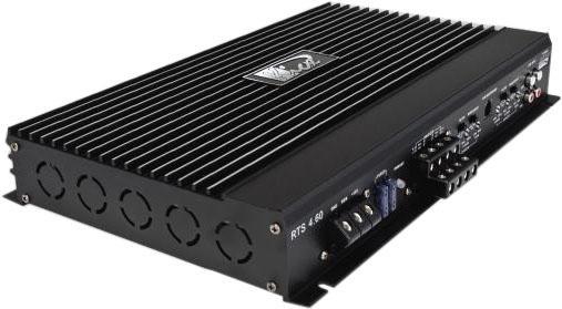 Усилитель звука Kicx RTS 4.60 4-канальный усилитель kicx gt 4 100