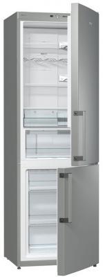 Холодильник Gorenje NRK6191GHX серебристый