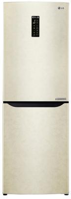 Холодильник LG GA-B389SEQZ бежевый холодильник lg ga b409ueqa бежевый