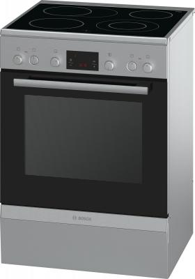 Электрическая плита Bosch HCA644250R серебристый