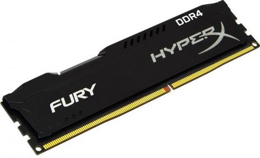 Оперативная память 16Gb PC4-21300 2666MHz DDR4 DIMM CL16 Kingston HX426C16FB/16 оперативная память kingston 16gb 2400mhz ddr4 dimm kvr24se17d8 16