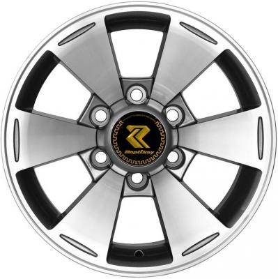 все цены на  Диск RepliKey Mitsubishi Pajero Sport/L200 7xR16 6x139.7 мм ET10 GMF [RK589Q]  онлайн