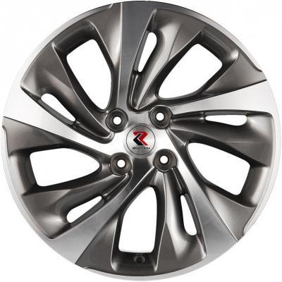 Диск RepliKey Peugeot 3008 7.5xR17 4x108 мм ET29 GMF [RK00512] литой диск replica fr 6x15 5x100 d57 1 et40 gmf