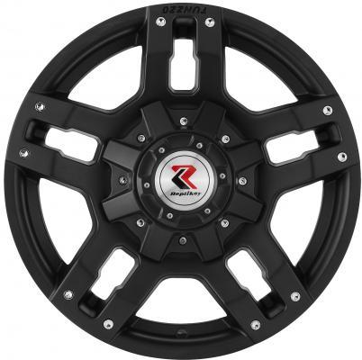 все цены на  Диск RepliKey Mitsubishi Pajero Sport/L200 8xR18 6x139.7 мм ET38 Matt Black [RK35387]  онлайн