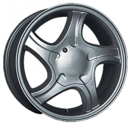 Диск K&K Санвэй (КС363) 5.5xR14 4x98 мм ET35 Дарк платинум диск ls wheels ls231 6xr14 4x98 мм et35 sf